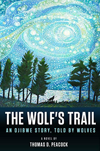 the wolf's trail children's book cover