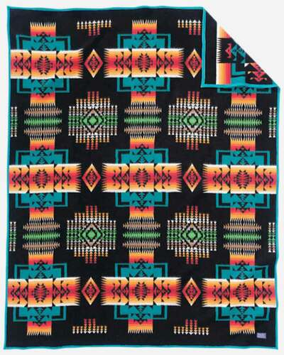 Pendleton Blanket: Chief Joseph Collection, Black