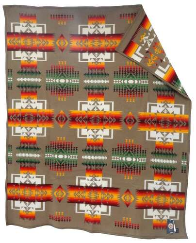 Pendleton Blanket: Chief Joseph Collection, Khaki