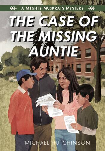 case of the missing auntie book cover