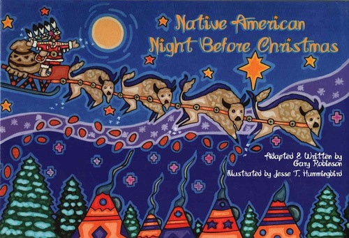 native american night before christmas