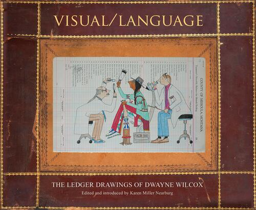 ledger drawings of dwayne wilcox cover