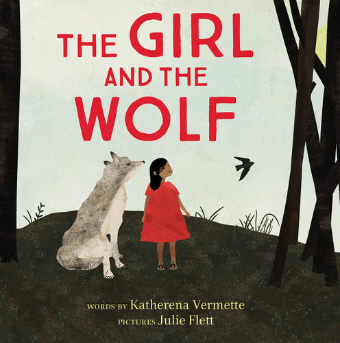 the girl and the wolf children's book cover