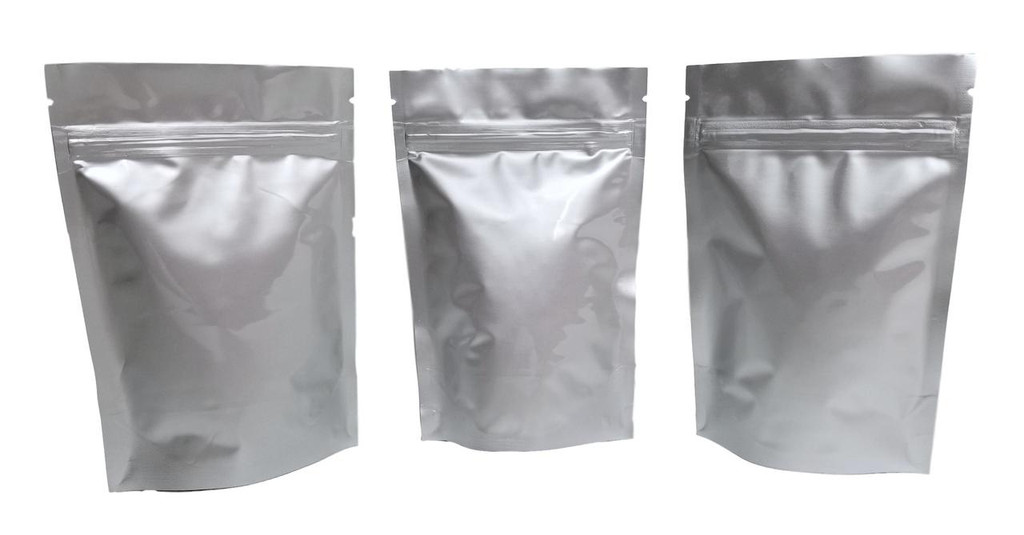 "4""x6""x2.5"" Gusseted Ziplock Mylar Bag - 5 mil - (Case of 3000)"