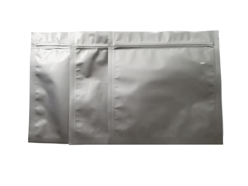 "8.25""x8.25"" 1 Quart 5 Mil Ziplock Mylar Bag (Case of 1000)"