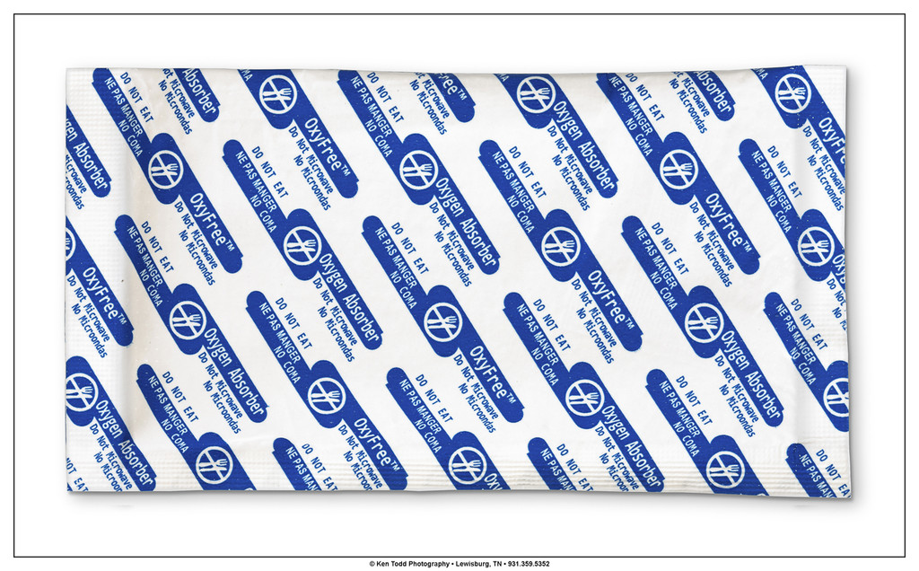 Wholesale case of Oxyfree 2000cc Oxygen Absorbers for 5 Gallon Mylar Aluminum Foil bags.