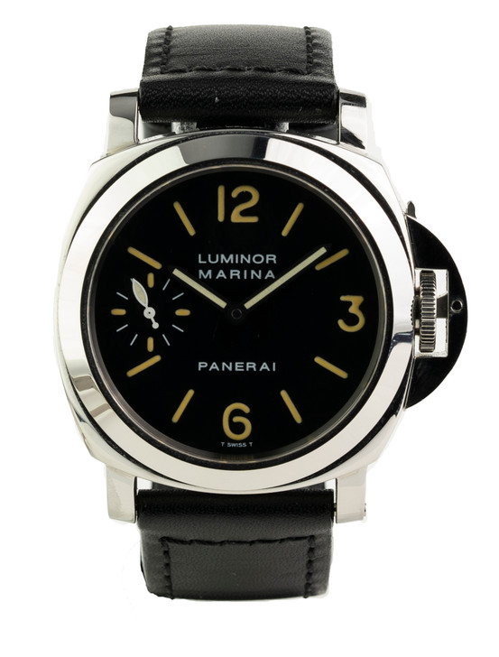 Panerai Luminor Marina First Production Year Reference - PAM0001, A-Series Buy Pre-owend / used watches at unbelievable prices at SecondTime.