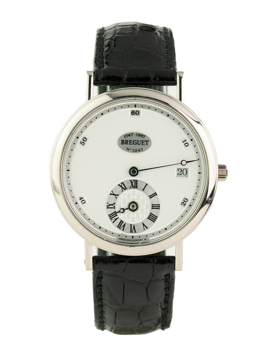 Breguet 250th Anniversary Limited Edition Regulator in 18k White Gold Reference - 1747BB/11/286-63 Buy Pre-owend / used watches at unbelievable prices at SecondTime.
