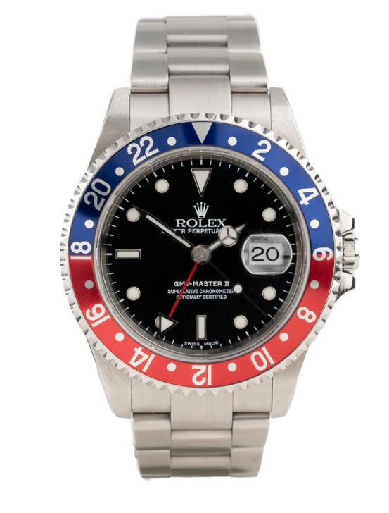 Rolex; GMT-Master; GMT Master; GMT2; gmtmaster 2; gmt-master 2; pepsi; blue; red; secondtime.com