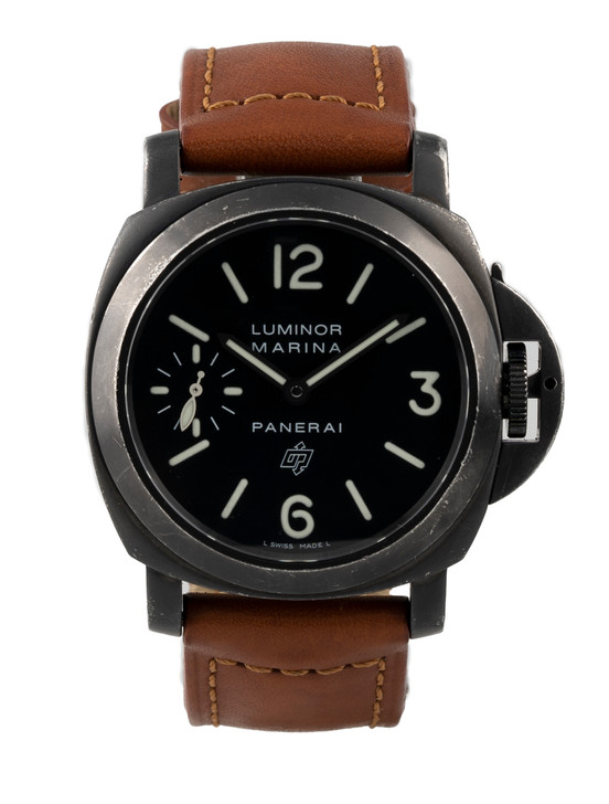 "Panerai Luminor ""Paneristi"" Collector Edition Watch in PVD Steel Reference – PAM 195 Buy Pre-owend / used watches at unbelievable prices at SecondTime."