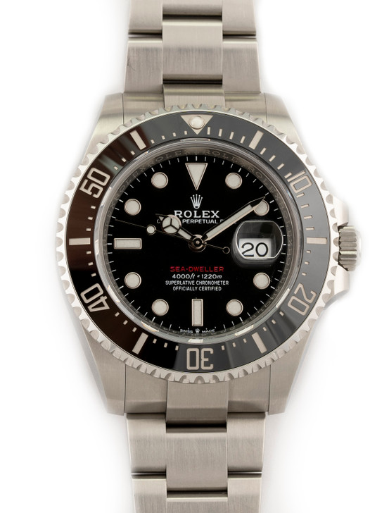 Rolex Oyster Professional Sea-Dweller 43mm in Stainless Steel Reference 126600 Buy Pre-owend / used watches at unbelievable prices at SecondTime.