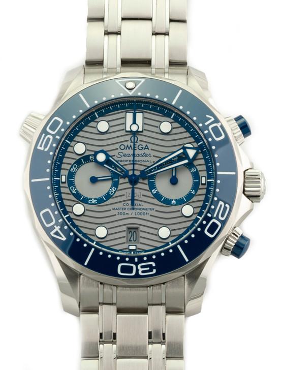 Omega Seamaster Professional 300m Diver Chronograph SecondTime