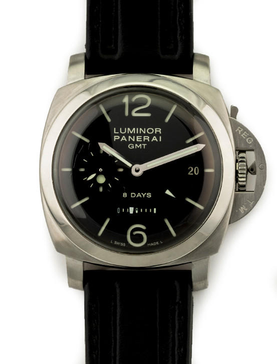 Panerai Luminor 1950 8 Day Power Reserve PAM 233. Now Available at Secondtime.com