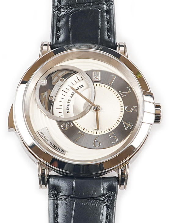 Harry Winston Midnight Minute Repeater MIDMMR42WW002 Available at SecondTime.com
