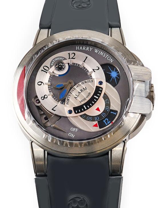 Harry Winston Project Z6 Alarm 400-MMAC-44Z Available at SecondTime.com