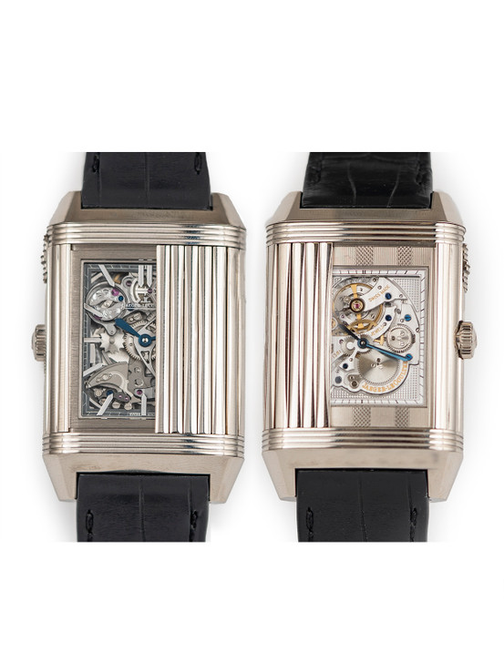 Jaeger leCoultre Reverso Rideau Minute Repeater Q2353520 Available at SecondTime.com