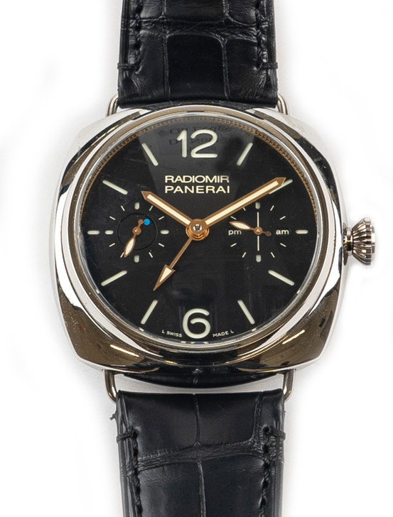 Panerai Radiomir Tourbillon GMT PAM316 Available at SecondTime.com