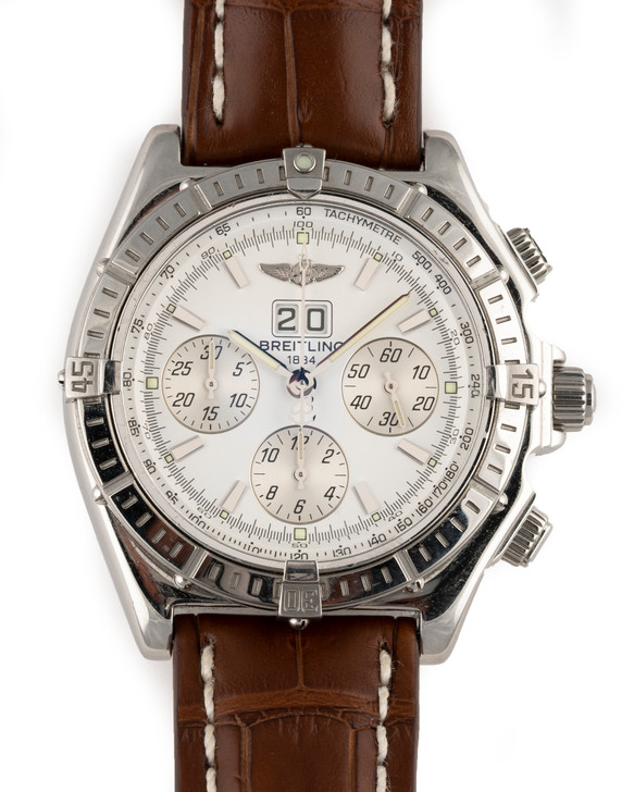 Breitling Crosswind Special Big Date Chronograph A44355 Available at SecondTime.com