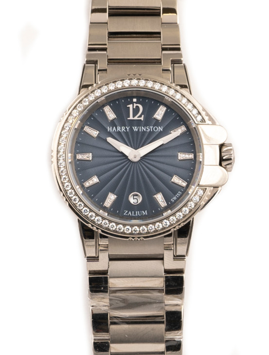 Harry Winston Ocean Sport Diamond Dial available at SecondTime.com