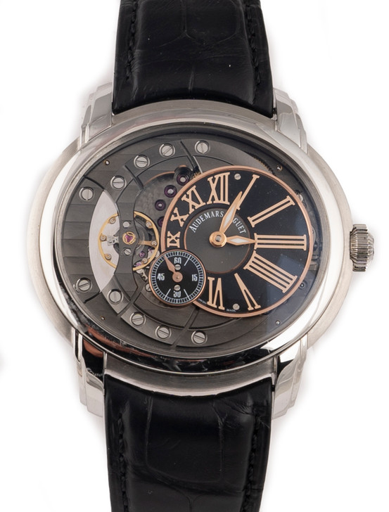Audemars Piguet Millenary 4101 in Steel Available at SecondTime.com