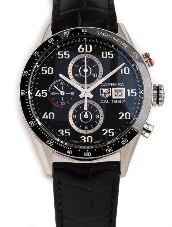 TAG Heuer Carrera Cal. 1887 Chronograph available at SecondTime.com