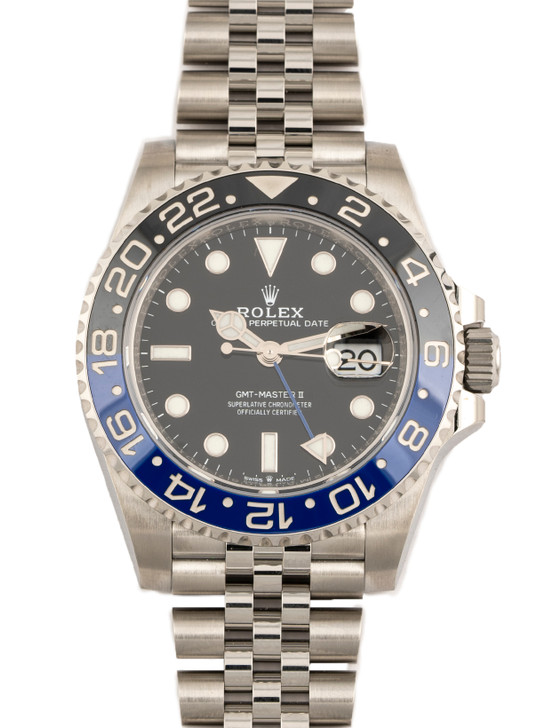 Rolex GMT-Master II Batgirl 126710BLNR available at SecondTime.com