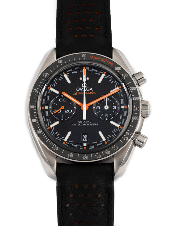 Omega Speedmaster Racing Master Chronometer 44mm 32932445101001 available at SecondTime.com