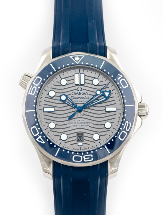 Omega Seamaster Diver 300m Co-Axial Master 42mm available at SecondTime.com