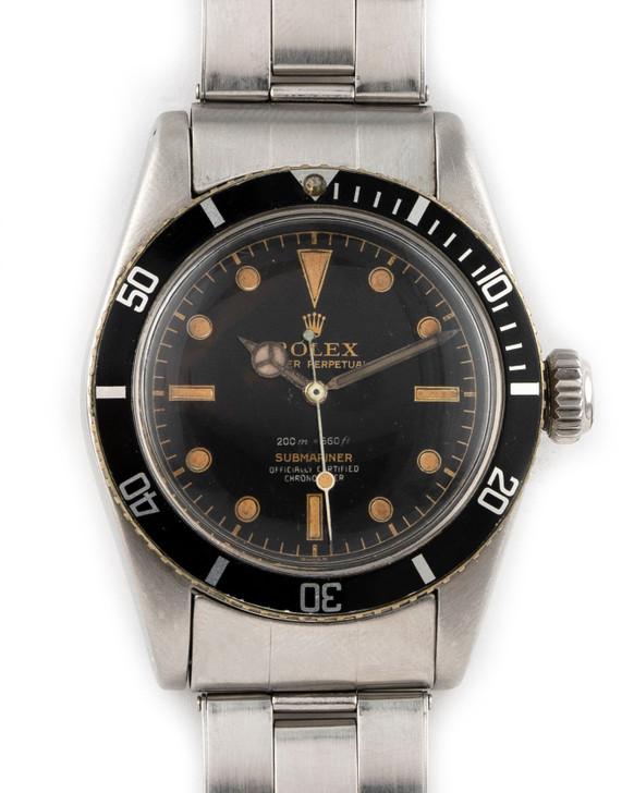 Rolex Oyster Perpetual Submariner Big Crown 'James Bond' - Ref 6538