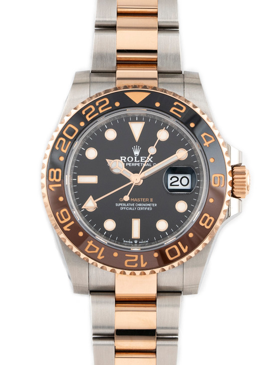 Rolex GMT-Master II Rootbeer 126711CHNR 2020 available at SecondTime.com