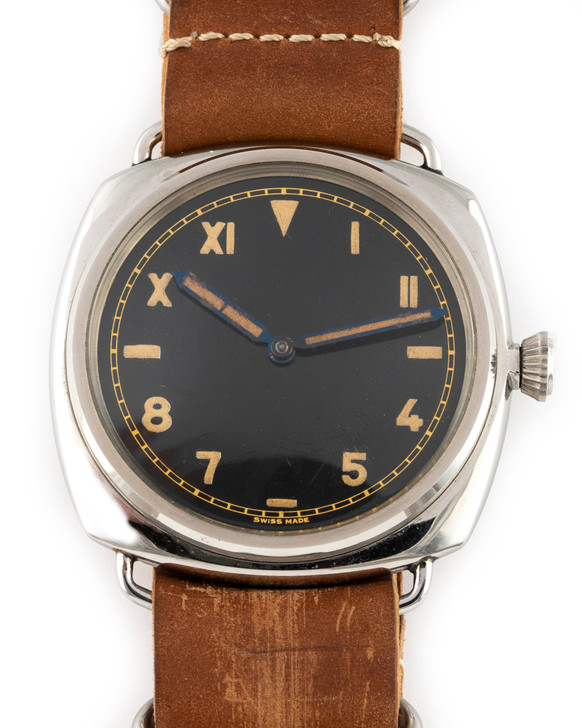 1944 Rolex Panerai Ref 3646 Cali Dial  available at SecondTime.com