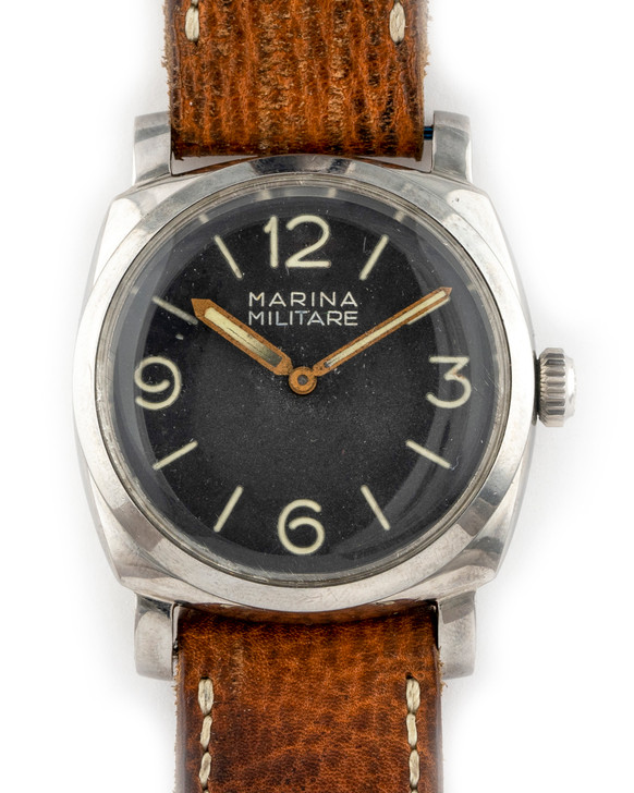 Panerai Marina Militare 6152-1 Rolex 3646 SMZ 103 MM - (Military Issued) available at SecondTime.com