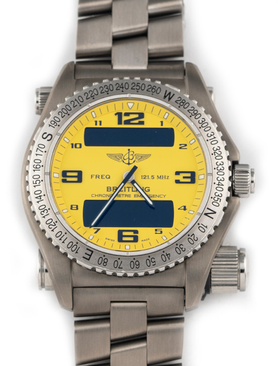 Breitling Professional Emergency E76321 YELLOW Dial 43mm