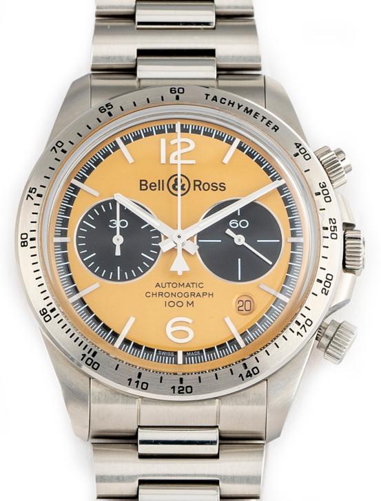 Bell & Ross BR V2-94 BellyTanker Chronograph 41mm BRV294-BT-ST/S