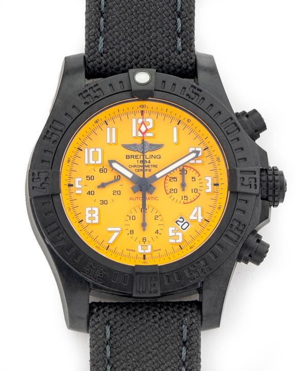 Breitling Super Avenger Chronograph 45 HURRICANE Yellow Dial XB0180