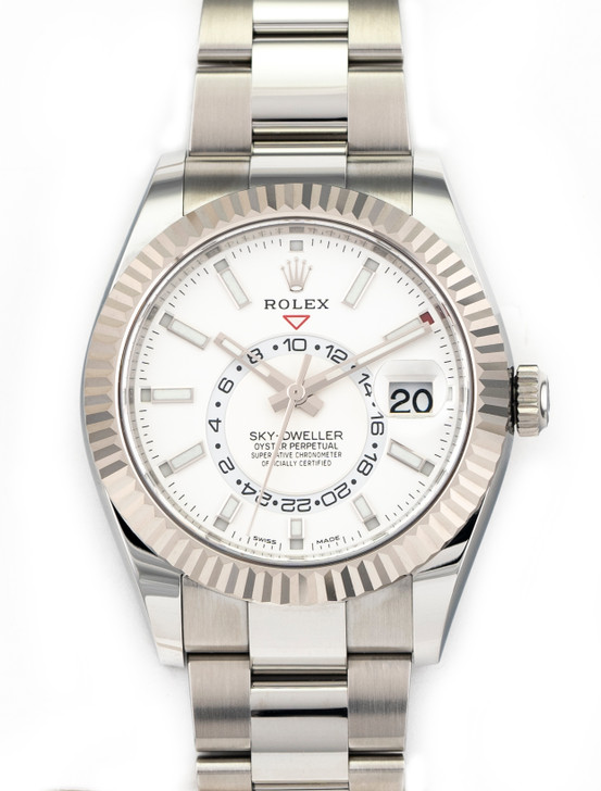 Rolex Sky-Dweller 42mm 326934 White Stainless steel Brand New Feb/2021