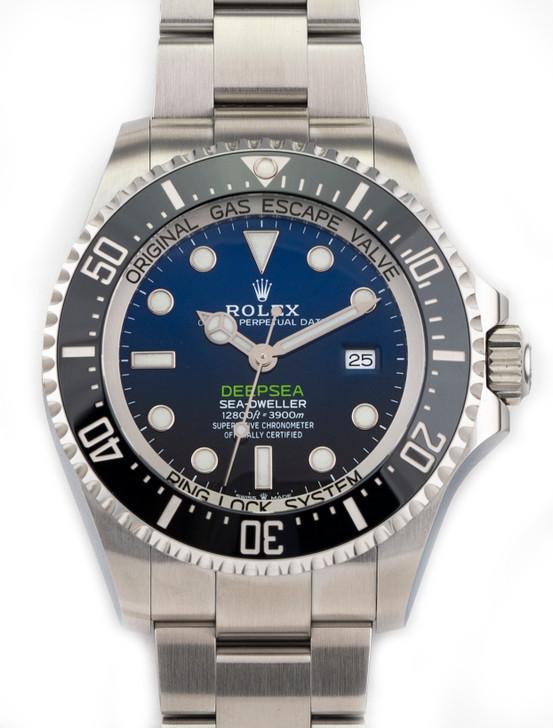 Rolex Sea-Dweller DEEPSEA 2021 James Cameron Deep Sea 126660 D-BLUE Brand New