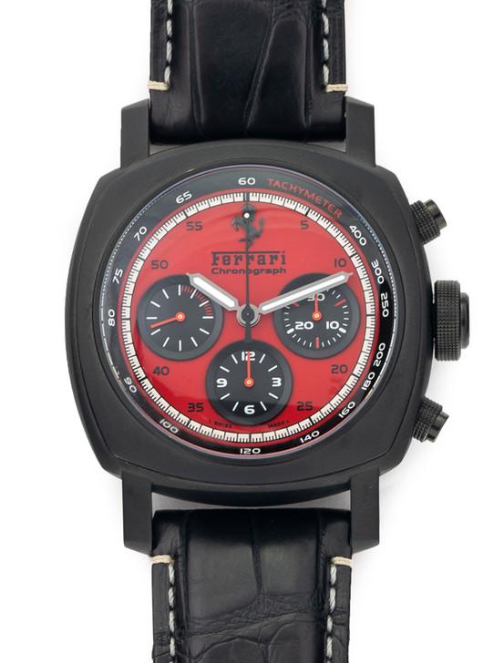 Panerai for Ferrari GranTurismo GT 45mm Chronograph FER0013 Red Dial