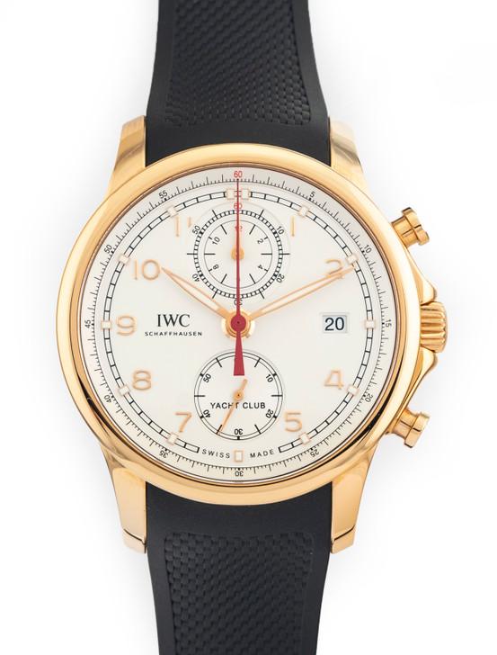 IWC Portuguese Yacht Club Chronograph 44mm IW390501 3905-01 Portugieser 18k Rose