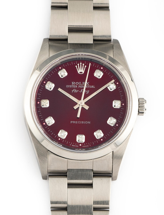 Rolex Air-King Ref 14000 34mm Stainless Steel Oyster Bracelet 2005 F Series