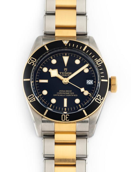 Tudor Heritage Black Bay Diver 41mm 79733N Stainless Steel 18k - 100% Complete