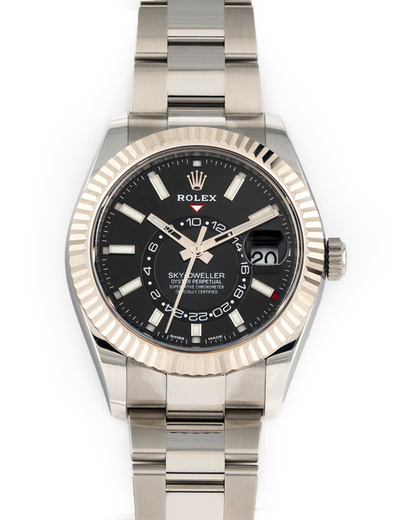 Rolex Sky-Dweller 42mm 326934 Black Stainless steel Brand New Complete July/2021