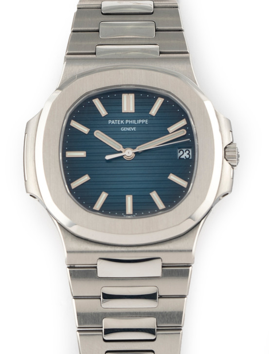 Patek Philippe Nautilus Stainless Steel Blue Dial Watch Box/Papers 5711/1A-010
