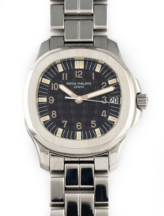 Patek Philippe Vintage Aquanaut Jumbo 5065/1A Time Capsule Complete Specimen