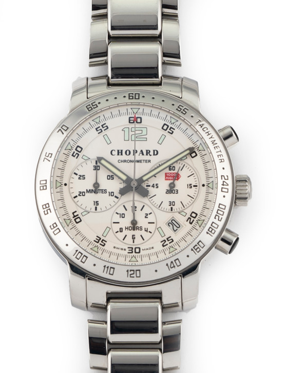 Chopard Mens Mille Miglia 40mm Chronograph Automatic 16/8932 Stainless Steel