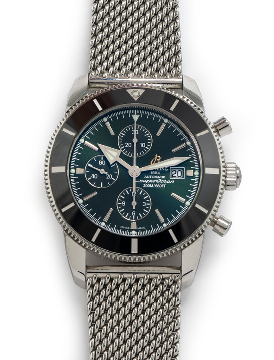 Breitling Superocean Heritage II 46 Chronograph Steel Green Dail A133121A