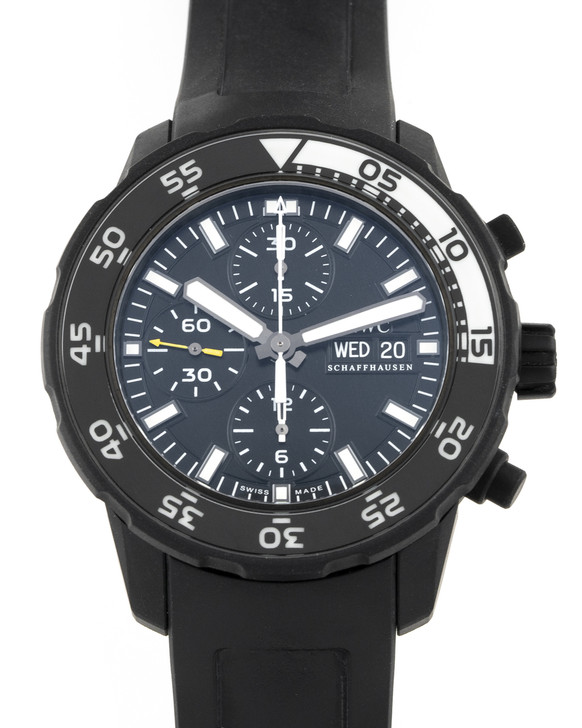 IWC Aquatimer Chronograph Galapagos Edition 44mm - Ref IW376705 available at  Secondtime.com