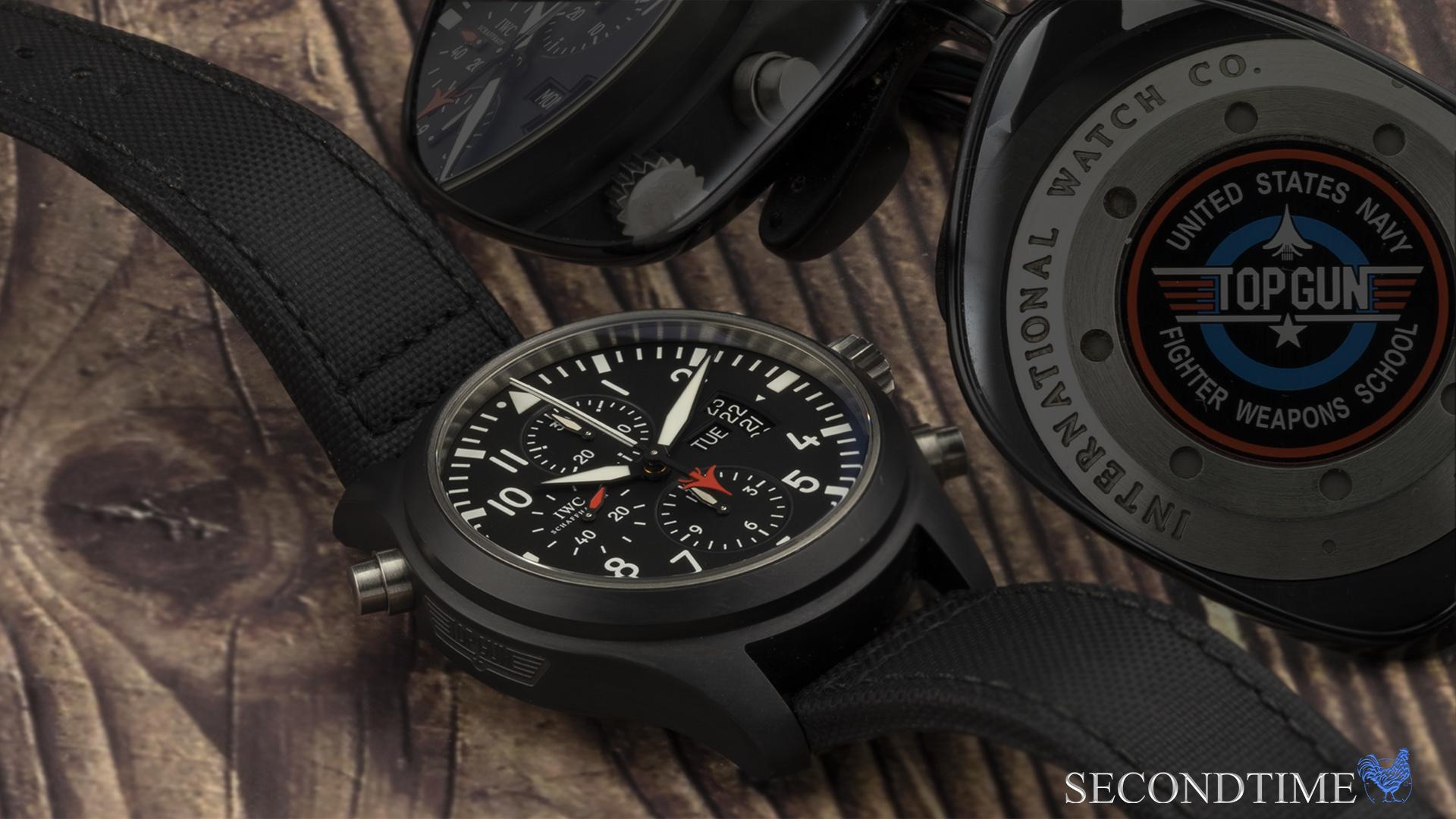 IWC Pilot Double Chronograph TOP GUN  Ref - IW379901
