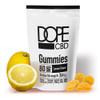 DOPE CBD 80mg Broad Spectrum CBD Lemon Gummies - 4ct Pouch