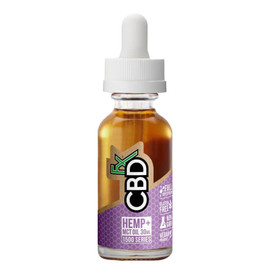 CBDfx 1500mg Full Spectrum CBD Hemp And MCT Oil Tincture 30ML